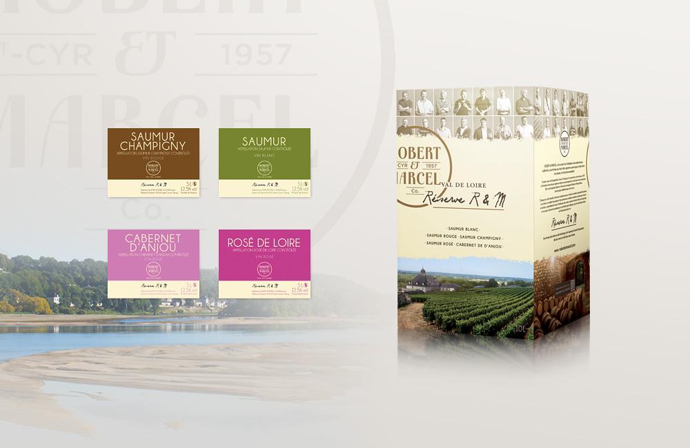Superbe Packaging - Vin et alimentaire - Delphine Guichard – Graphiste #CM_42