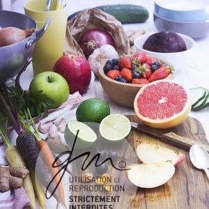 Photo produits culinaires Illustration de chapitre - Jus et soupes détox - Delphine Guichard - Photographe culinaire