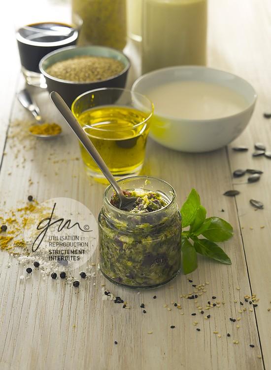 Photo produits culinaires Les assaisonnements, tartare d'algues - Delphine Guichard - Photographe culinaire
