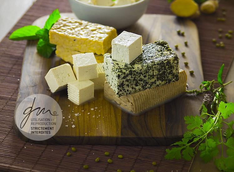 Photo produits culinaires Les tofus - Delphine Guichard - Photographe culinaire
