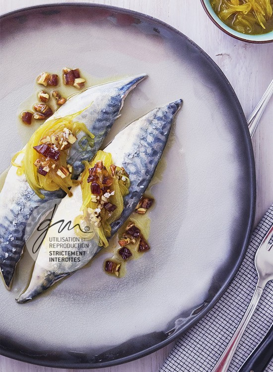 Photo recette - Maquereaux vapeur à l'orange - blog Cook'n Focus - Delphine Guichard photographe culinaire