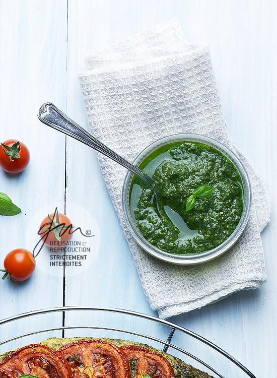 Photo recette - Pesto végétalien - blog Cook'n Focus - Delphine Guichard photographe culinaire