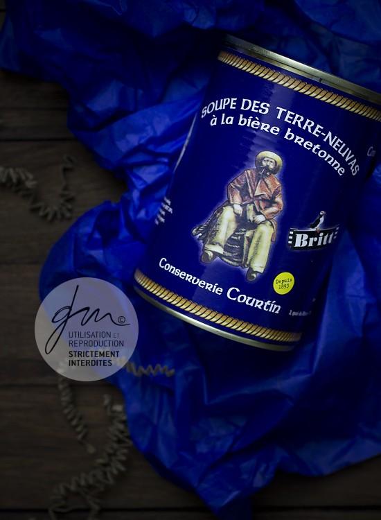 Photo produit Soupe Conserverie Courtin - Bonjour French Food - Delphine Guichard - Photographe culinaire