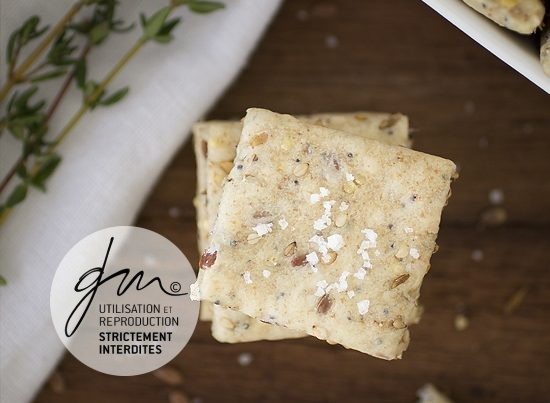 Photo recette Crackers - Marlette - Box Bonjour French Food - Delphine Guichard - Photographe culinaire