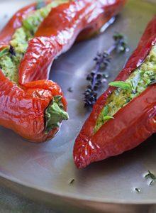 Photo recette Poivron farci - Valérie Cupillard - Delphine Guichard - Photographe culinaire