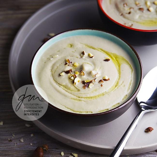 Photo recette Crème de panais aux champignons - Simplement bio, simplement bon - Delphine Guichard - Photographe culinaire