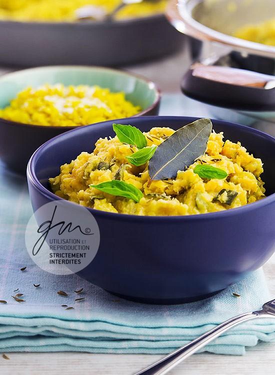 Photo recette Dhal de lentilles corail - Simplement bio, simplement bon - Delphine Guichard - Photographe culinaire