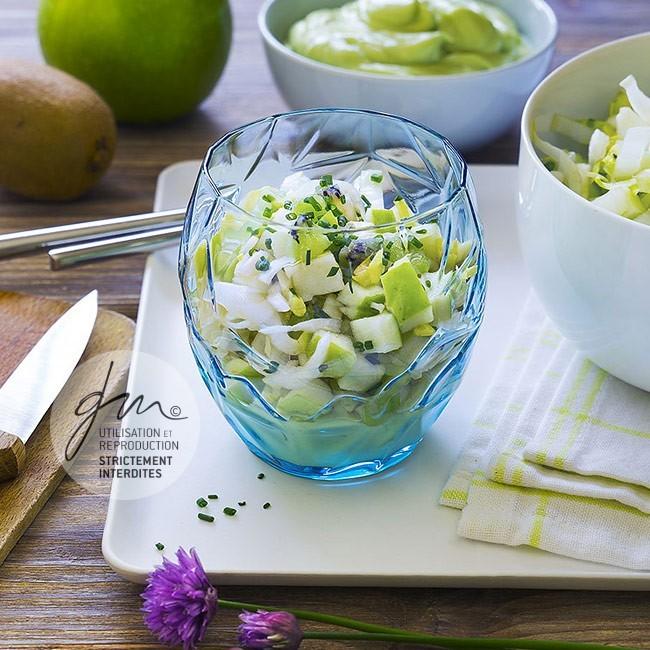 Photo recette Salade endives pomme verte - Simplement bio, simplement bon - Delphine Guichard - Photographe culinaire