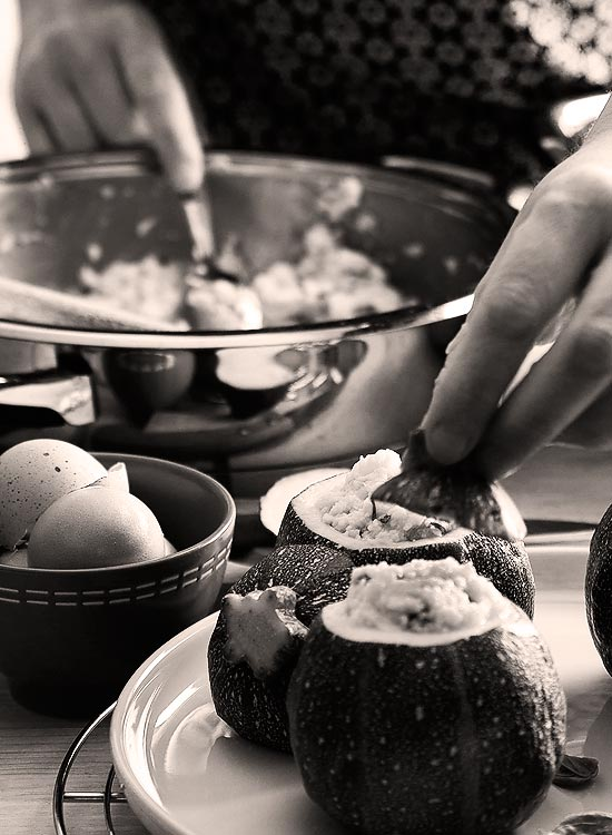 Réalisation des recettes et dressage – Delphine Guichard photographe culinaire