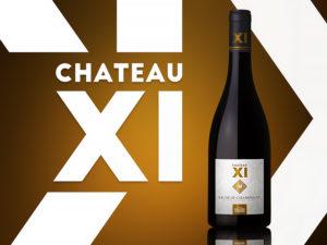Voir packaging Chateau XI sur Dribbble